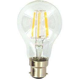 Ampoule LED filament - 8W - B22 (photo)