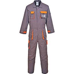 Combinaison TEXO Portwest - gris/orange - taille S