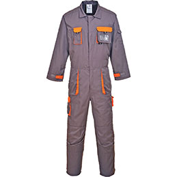 Combinaison TEXO Portwest - gris/orange - taille XL