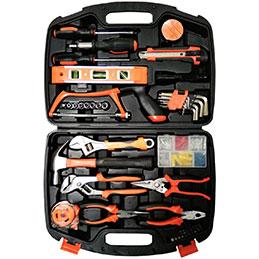 Caisse à outils 42 outils + 64 accessoires JPC (photo)