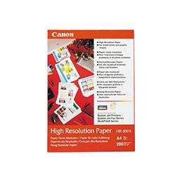 Canon HR-101 - papier couché - A4 (210 x 297 mm) - 200 feuille(s) - pour BJ-S400, S520; PIXMA IP4000, iP6210, iP6310, iP8500, MG8250, MP110, MP130, MP750, MP780 (photo)