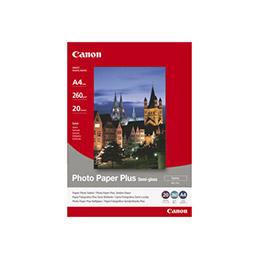 Canon Photo Paper Plus SG-201 - satin semi-brilant - 101.6 x 152.4 mm - 260 g/m² - 50 feuille(s) papier photo - pour PIXMA iP3680, iP4820, iP4850, MG8250, MP198, MP228, MP245, MP252, MP258, MP476; S450 (photo)