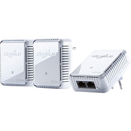 Devolo CPLl dLAN 500 duo network kit (photo)