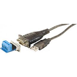 Convertisseur USB 2.0 Série RS485/RS422 DB9+BORNIER 4FILS