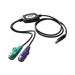 Aten UC10KM adaptateur USB pour clavier et souris PS2