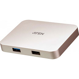 ATEN UH3235 mini docking stationType-C vers HDMI 4K (photo)