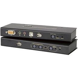 ATEN CE800B Prolong. console KVM RJ45 (250m) - VGA+USB+AUDIO (photo)