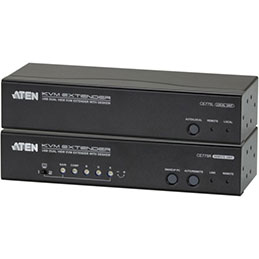 Aten CE775 prolongateur KVM Double Écran VGA/AUB/Audio 300M (photo)