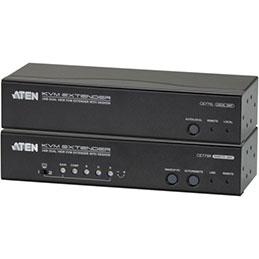 Aten CE775 prolongateur KVM Double Écran VGA/USB/Audio 300M (photo)