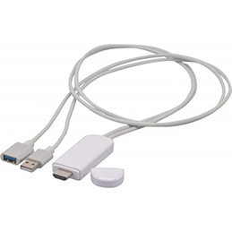 Convertisseur usb vers HDMI pour Apple Lightning (photo)