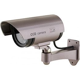 Caméra extérieure factice à LED (photo)