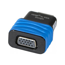 Convertisseur monobloc hdmi vers vga (photo)