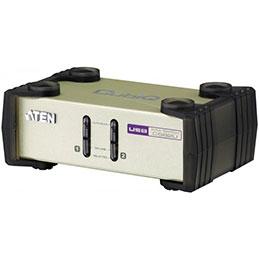 Aten CS82U Switch KVM 2 ports combo VGA/USB+PS2 + Câbles