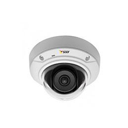 Axis caméra dôme ip antivandale 2.8mm 720p M3044-V (photo)