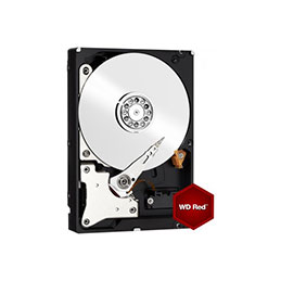DD 3''1/2 SATA III WESTERN DIGITAL Red - 1To (photo)