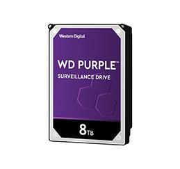 DD 3.5   SATA III WESTERN DIGITAL Purple - 8To (photo)