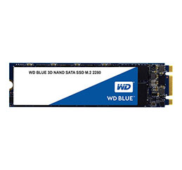 DISQUE SSD WD 3D NAND SSD Blue M.2 80mm - 1To (photo)