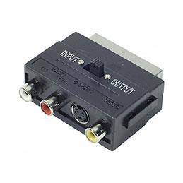 Adaptateur Péritel vers S-VHS & RCA (photo)