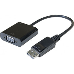 Convertisseur actif DisplayPort 1.2 vers VGA - 15CM (photo)