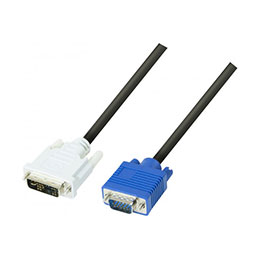 Cord.ecran dvi-a/vga HD15M 3M (photo)