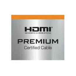 DEXLAN Cordon HDMI®  Premium haute vitesse avec Ethernet -1M