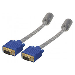 Cable svga or transparent HD15MM 15M (photo)