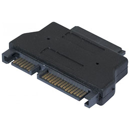 Adaptateur Slim SATA (CD/DVD) versSATA (photo)