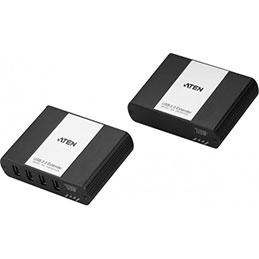 ATEN UEH4102 Extendeur USB 2.0 sur IP Hub métal 4 ports (photo)