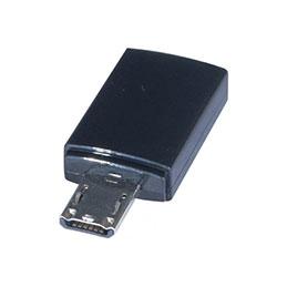 Adaptateur usb 2.0 micro b 5pins f vers micro b 11pins m (photo)