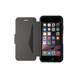 OTTERBOX Strada pour Apple iPhone 6/6S - Cuir Noir (photo)