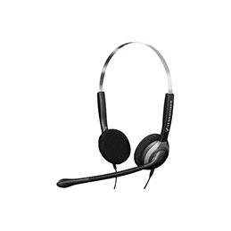 Sennheiser SH250 casque-micro anti distorsion - 2 écouteurs (photo)