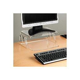 Support écran lcd / clavier - Hauteur réglable 49550 (photo)