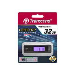Cle USB 3.0 TRANSCEND JetFlash 760 - 32Go Noir