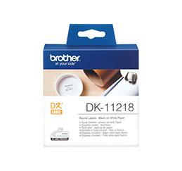 BROTHER Rouleau de 1000 étiquettes DK11218 (photo)