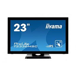 Ecran IIYAMA ProLite T2336MSC-B2 VGA/DVI/HDMI/USB + HP-23