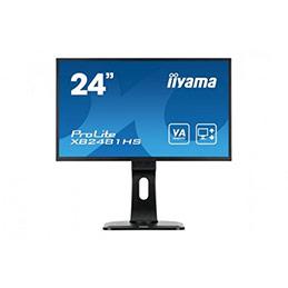 Ecran IIYAMA XB2481HS-B1 VGA/DVI/HDMI + HP - 23.6