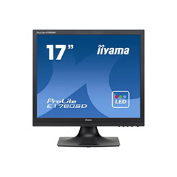 Ecran LED IIYAMA E1780SD-B1 5MS VGA/DVI 5/4 17'' (photo)