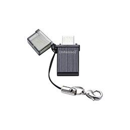 CLE USB 2.0 INTENSO MINI MOBILE LINE USB + MICRO USB - 16Go