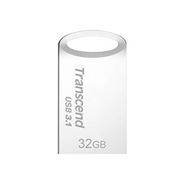 Cle USB 3.0 TRANSCEND JetFlash 710 - 32Go Gris