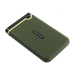 TRANSCEND DD externe 2.5   StoreJet 25M3 USB 3.0 2 To vert militaire