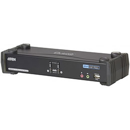 Aten CS1782A KVM DVI/USB 2 ports +Audio 7.1 Support vidéo 3D (photo)