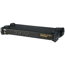 ATEN CS1754 KVM RACKABLE VGA/PS2 & USB 4 ports (photo)