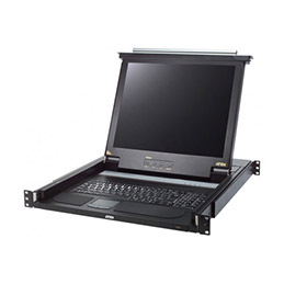 ATEN CL1000 console KVM LCD 17' 1 port VGA/PS2-USB (photo)