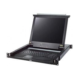 ATEN CL1000 console KVM LCD 17