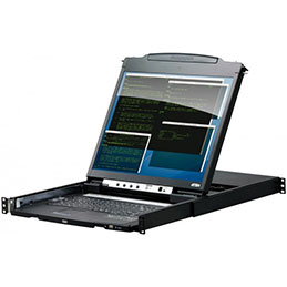 ATEN CL5800 Console KVM LCD 19
