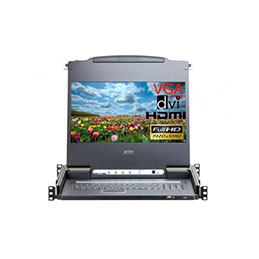 Aten CL6700MW console LCD HDMI-DVI-VGA/USB Full HD 1080P (photo)