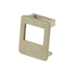 Insert pour panneau RJ lot de 50 pcs-ivoire (photo)