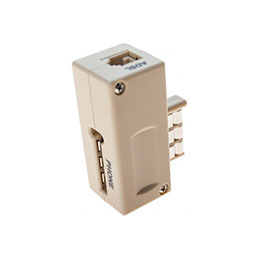 Prise gigogne filtre ADSL T vers RJ11