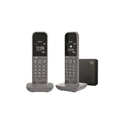 Gigaset CL390 Duo téléphone DECT Gris Base + 2 combinés (photo)