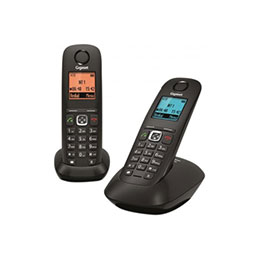 Gigaset A540 duo noir téléphone sans fil dect (photo)